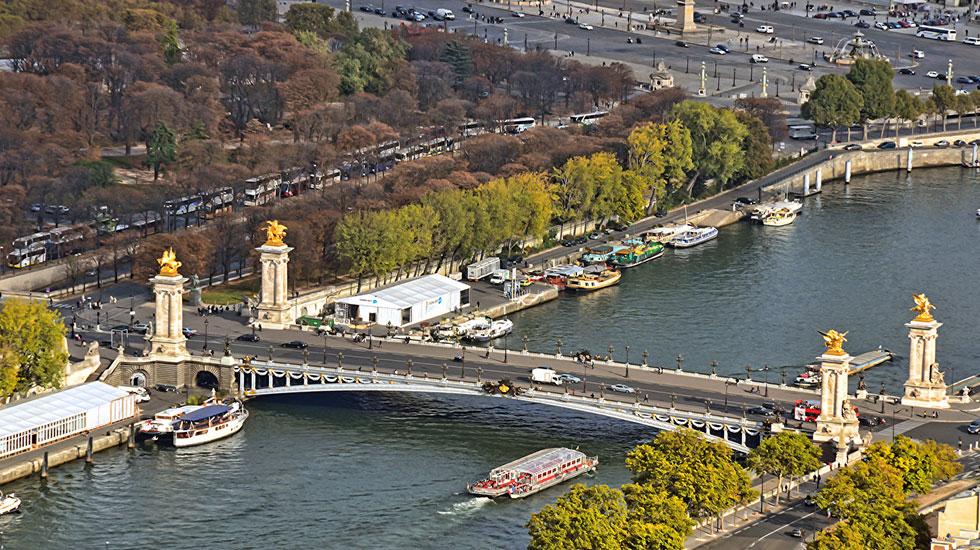 Chiếc cầu Alexandre V - Paris