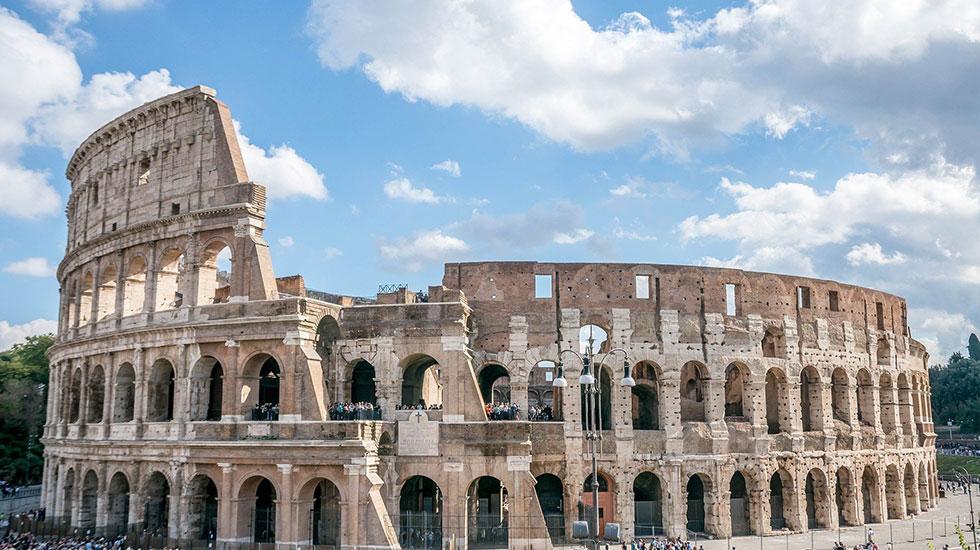 Đấu trường La Mã Coloseum-Du lịch Ý