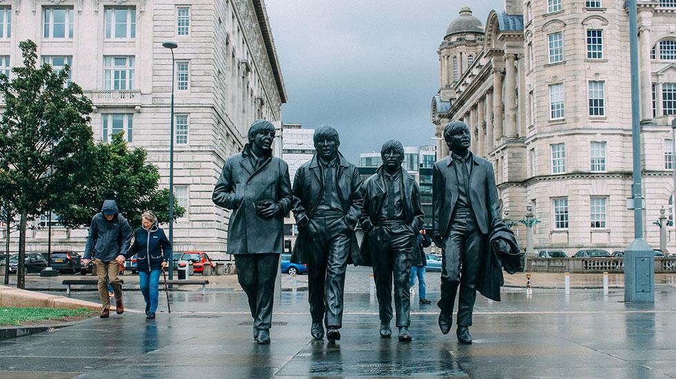 Ban nhạc The Beatles - Du lịch Anh Quốc