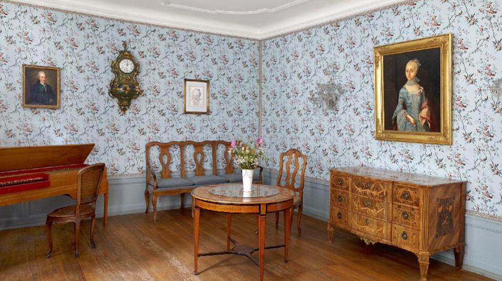 Bên trong căn hộ của nhà văn Goethe-Du lịch Đức