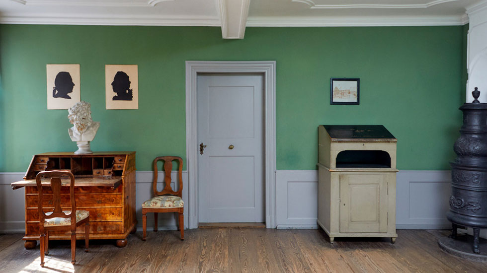 Bên trong căn hộ nhà văn Goethe-Du lịch Đức
