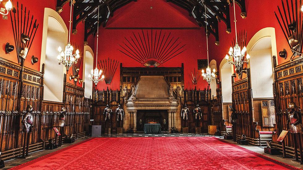 Bên trong lâu đài Edinburgh - Tour tham quan Ediburgh