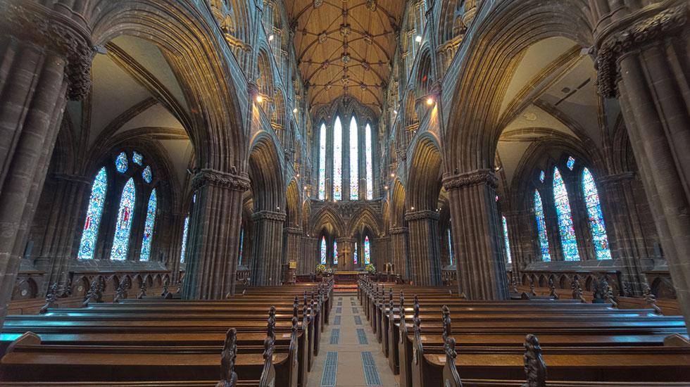 Bên trong nhà thờ Glasgow - Tuor du lịch Anh