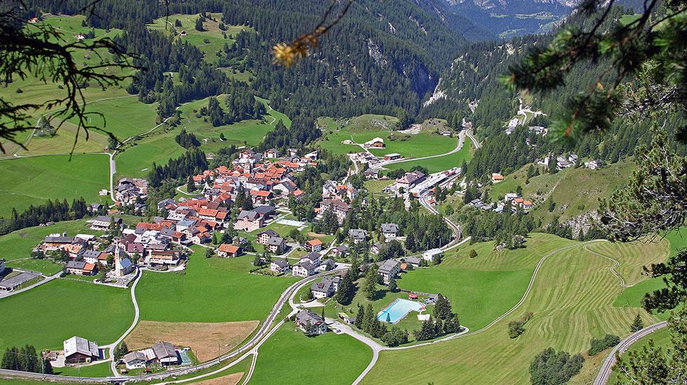 Bergun - Tour Thụy Sĩ giá rẻ