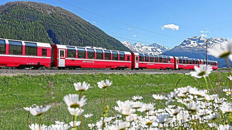 Bernia Express-Du lịch Thụy Sĩ giá rẻ