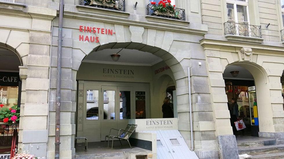Căn hộ nhà khoa học Einstein - Du lịch Thụy Sĩ