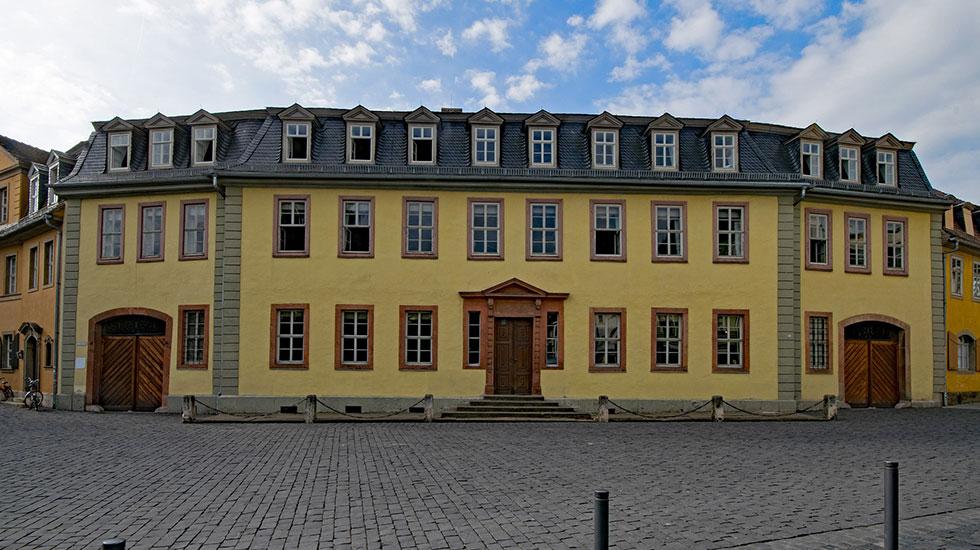 Căn nhà của nhà văn nổi tiếng Goethe - Du lịch Đức