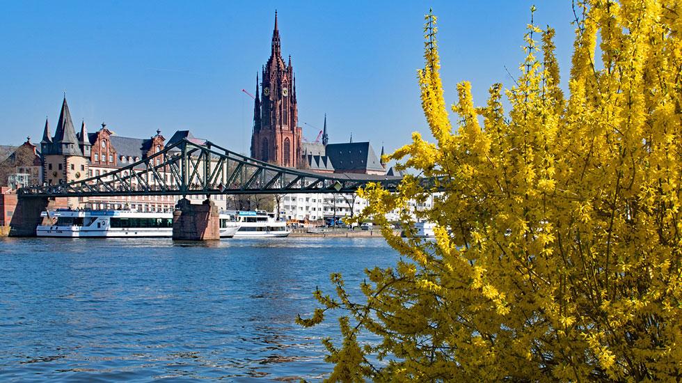 Cầu sắt Eiserner Steg - Du lịch Đức