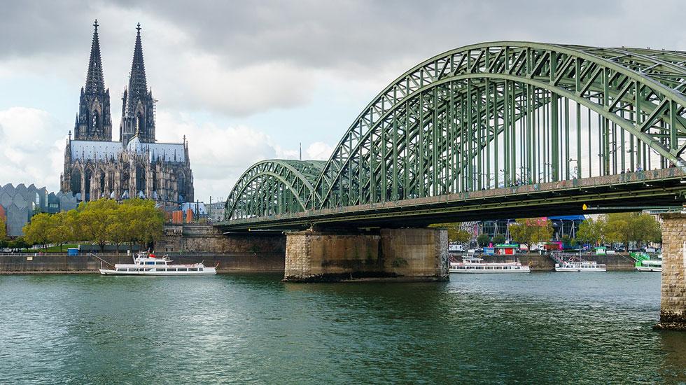 Chiếc Cầu Hohenzollern - Du lịch Đức