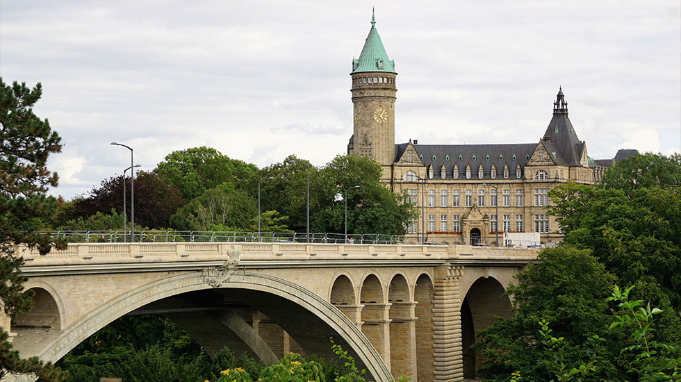 Chiếc cầu Adolphe - Tour Du Lịch Luxembourg