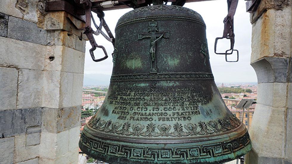 Chuông tháp nghiêng Pisa - Tour Du Lịch Ý