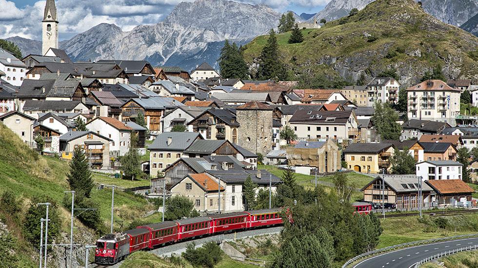 Chuyến tàu Glacier Express-Tour du lịch Thụy Sĩ