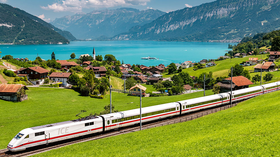 Chuyến tàu Golden Passline - Tour du lịch Thụy Sĩ