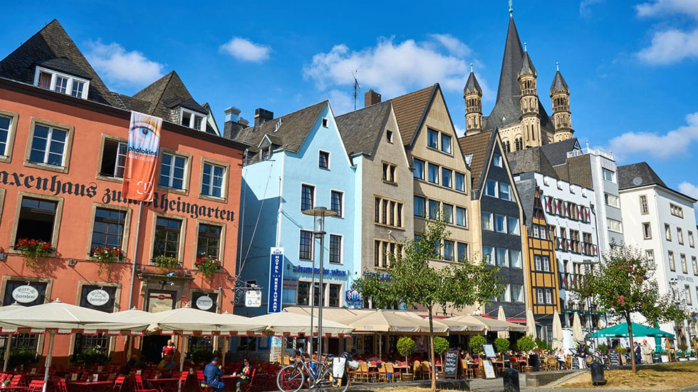 Cologne Old Town- Du lịch Đức