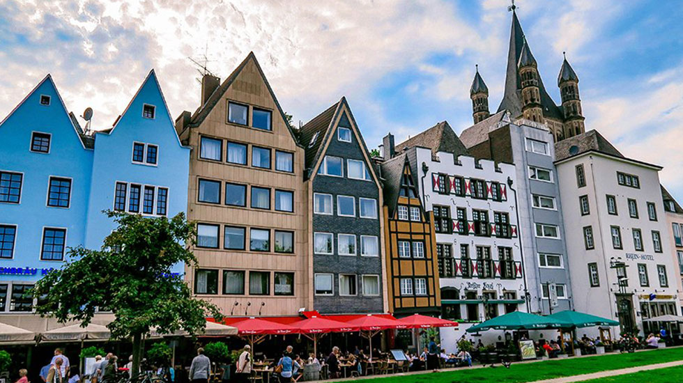 Cologne Old Town Du lịch Đức