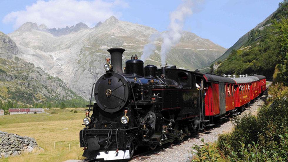 Con tàu Đà Lạt - Du lịch Thụy Sĩ