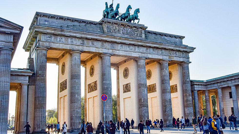 Cổng Thành Brandenburg - Du lịch Đức