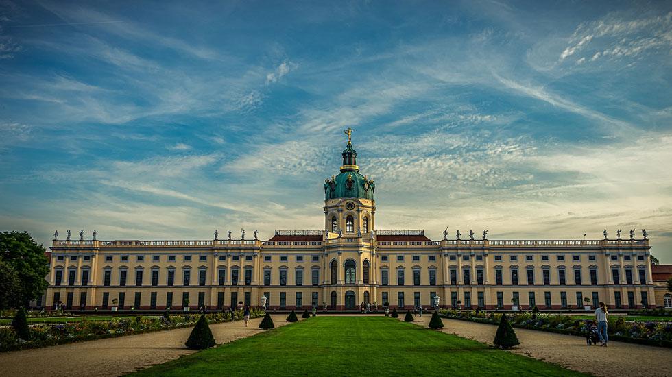 Cung điện Charlottenburg - Du lịch Đức