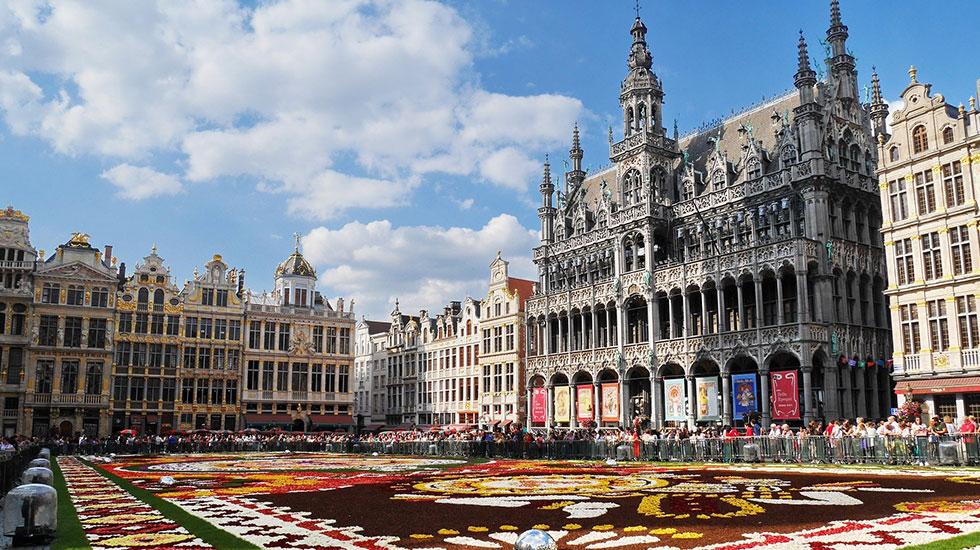 Cung điện Grand Palace - Du lịch Bỉ (1)