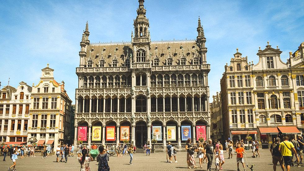 Cung điện Grand Palace - Du lịch Bỉ (2)