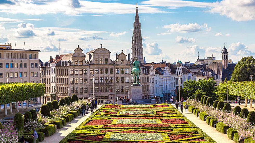 Cung điện Grand Palace - Du lịch Bỉ