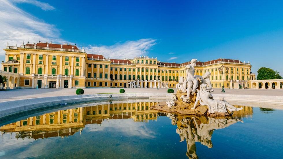 Cung điện Schonbrunn - Du lịch Áo