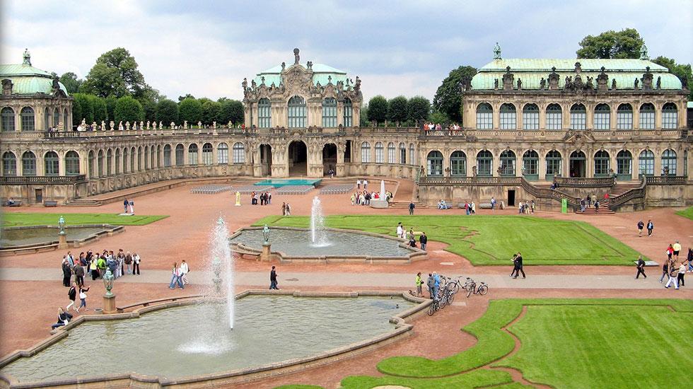 Cung điện Zwinger - Du lịch Đức