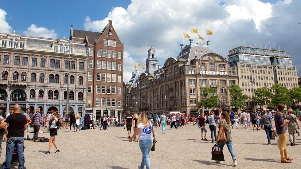 Dam Square-Du lịch Hà Lan