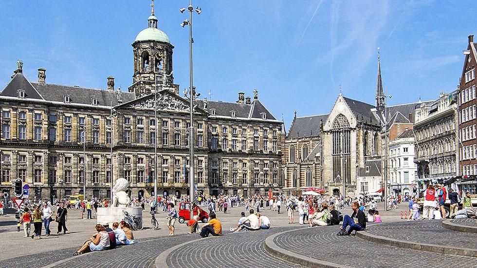 Dam Square - Tour Hà Lan