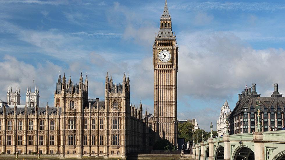 Đồng hồ Big Ben - Du lịch London