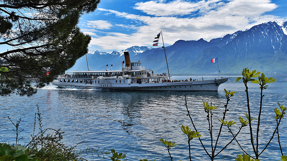Du thuyền rên hồ Lucerne - Du ịch Thụy Sĩ giá rẻ