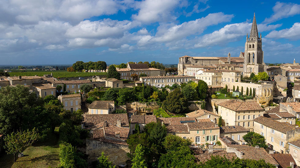 France_Houses_Church_Saint-Emilion_Monolithic - Tour Du Lịch Pháp