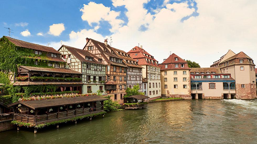France_Strasbourg_Houses - Tour Du Lịch Pháp