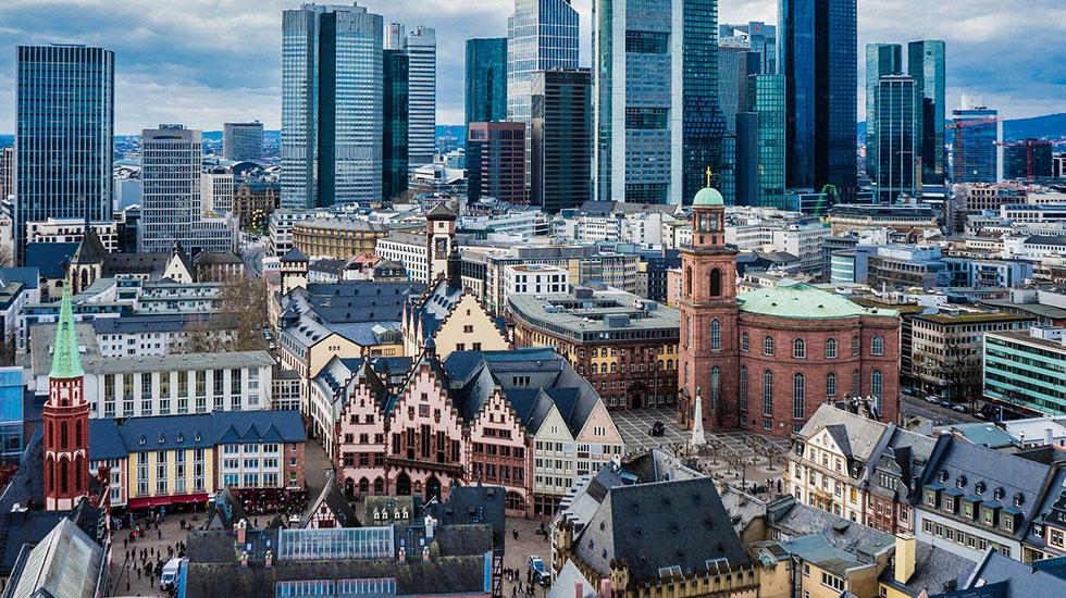 Frankfurt Old Town - Du lịch Đức