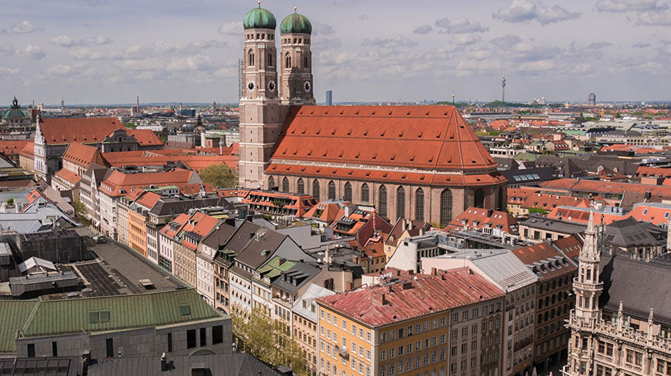 Germany-Munich-Cathedral
