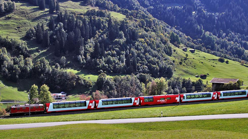 Glacier Express - Tour du lịch Thụy Sĩ (2)
