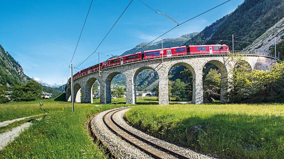 Glacier Express - Tour du lịch Thụy Sĩ (3)