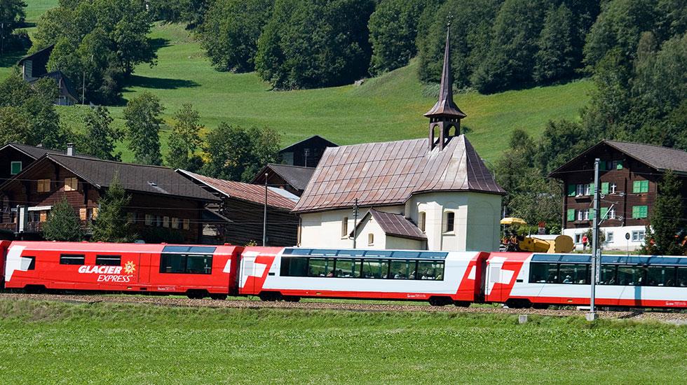 Glacier Express-Tour du lịch Thụy Sĩ