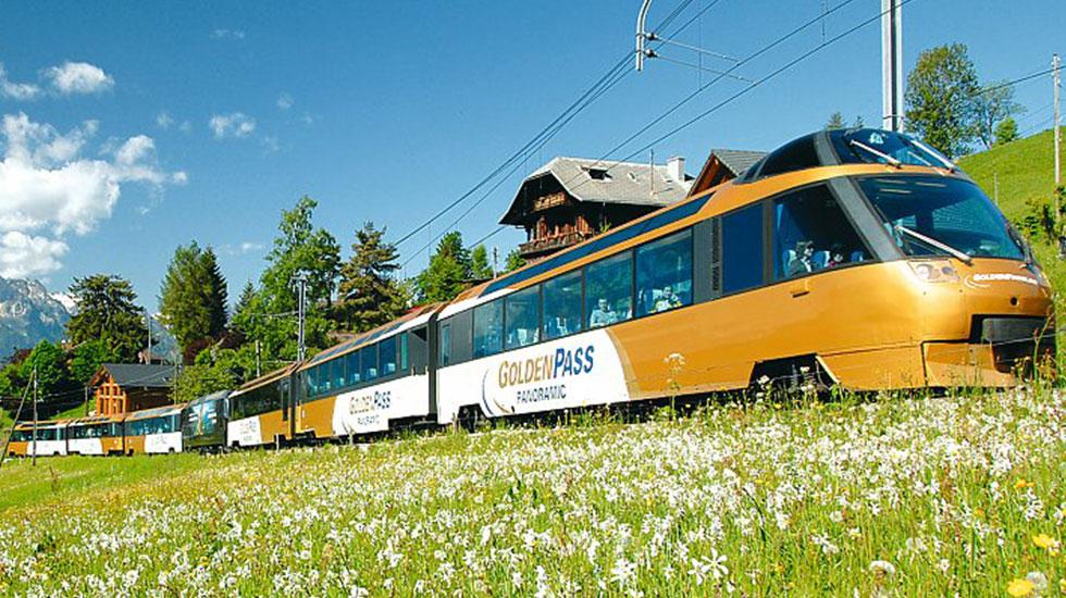 Golden Passline-Du lịch Thụy Sĩ
