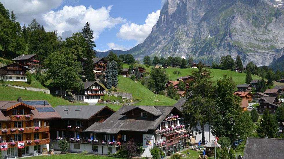 Grindelwald - Du lịch Thụy Sĩ
