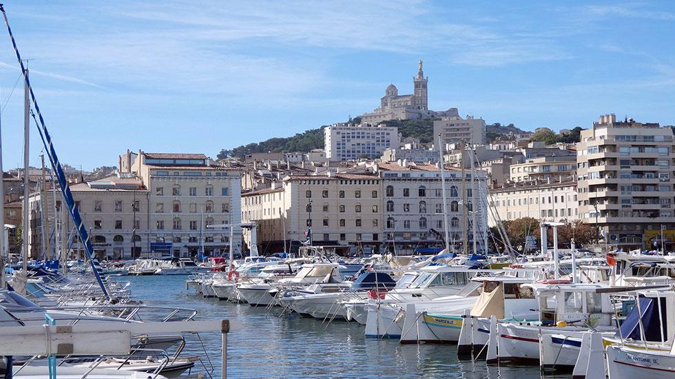Hải cảng cổ Vieux Port Marseille - Tour Du Lịch Pháp