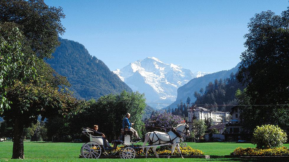 Interlaken - Du lịch Thụy sĩ