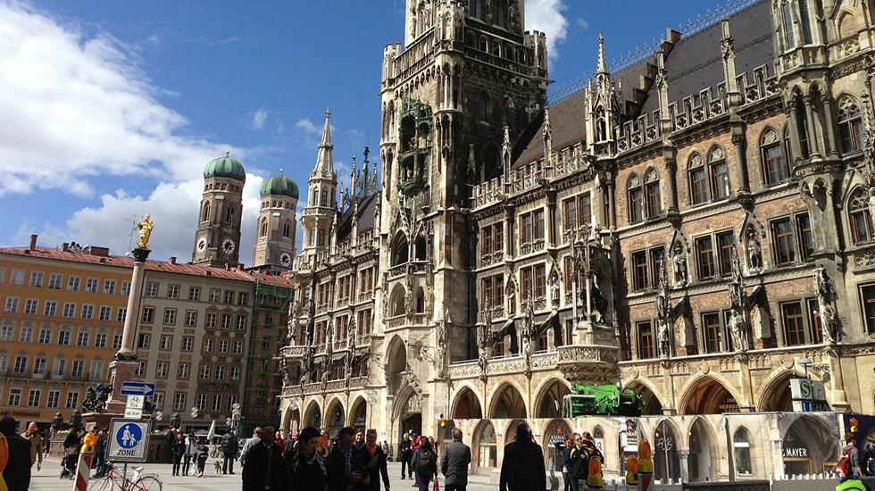 KHu phố cổ Munich - Du lịch Đức