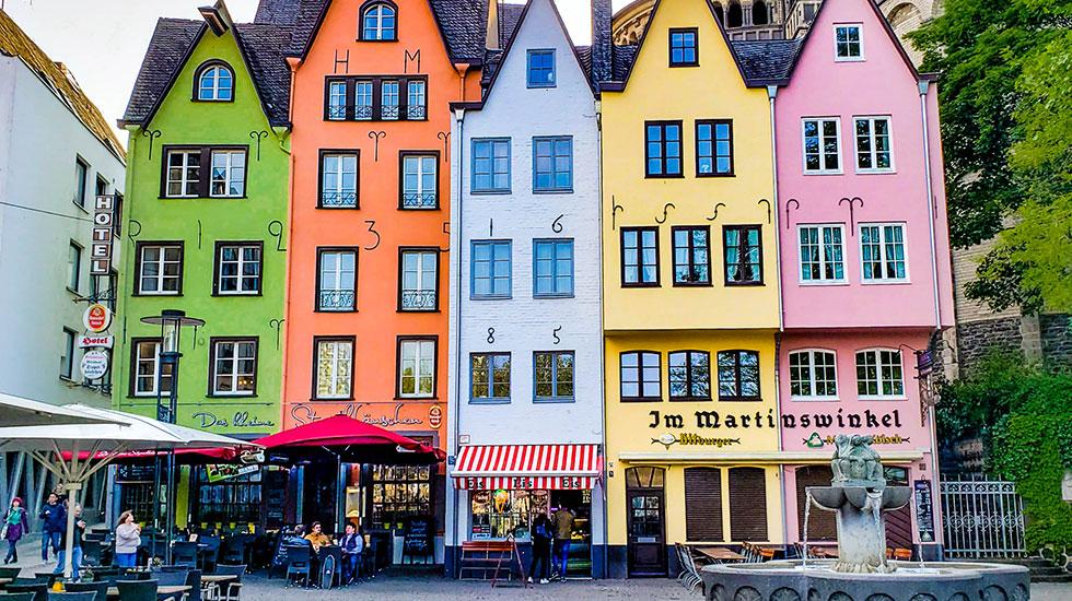 Khu phố cổ Cologne - Du lịch Đức