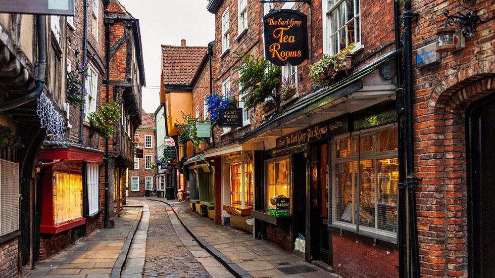 Khu phố cổ Shambles- Du lịch Anh Quốc
