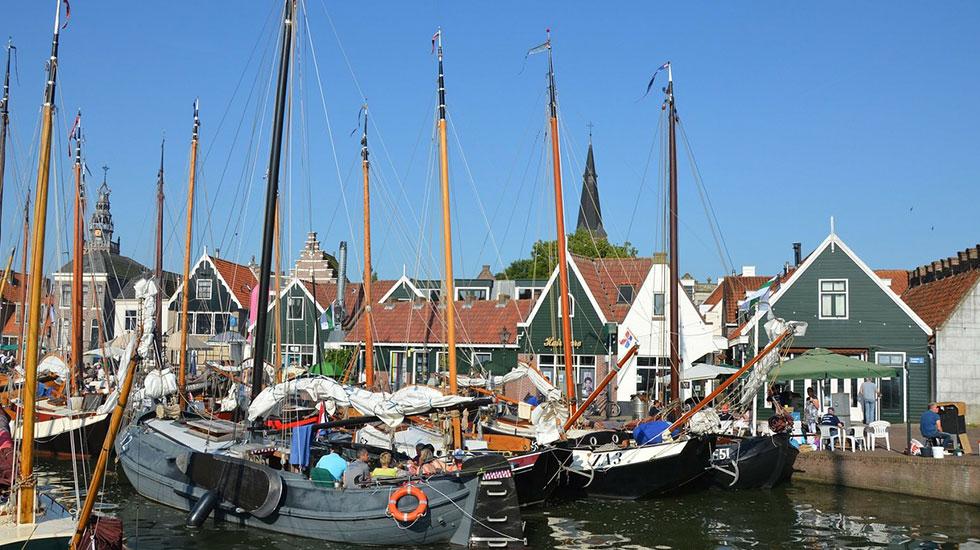 Làng chài Volendam - Du lịch Hà Lan