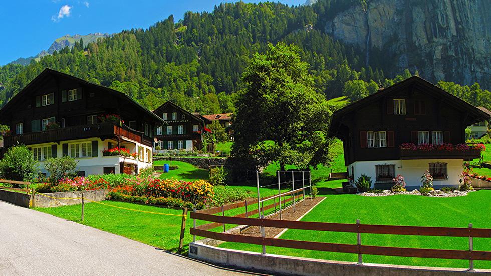 Lauterbrunnen - Tour Thụy Sĩ