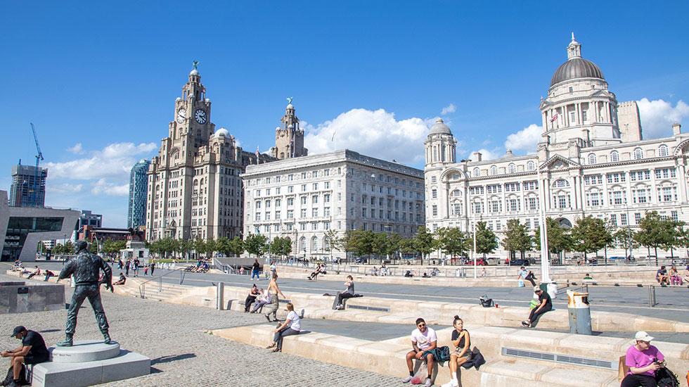Liverpool's Pier Head - tham quan Liverpool