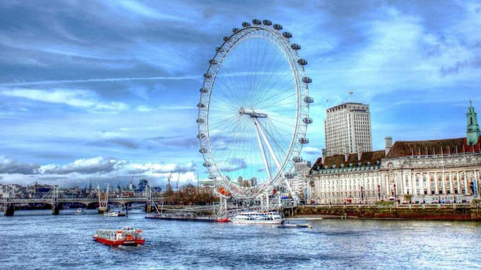 London Eye - Du lịch London
