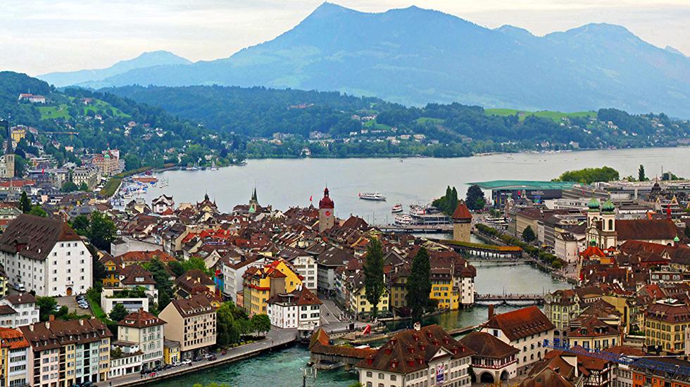 Lucerne - Du lịch Thụy Sĩ giá rẻ
